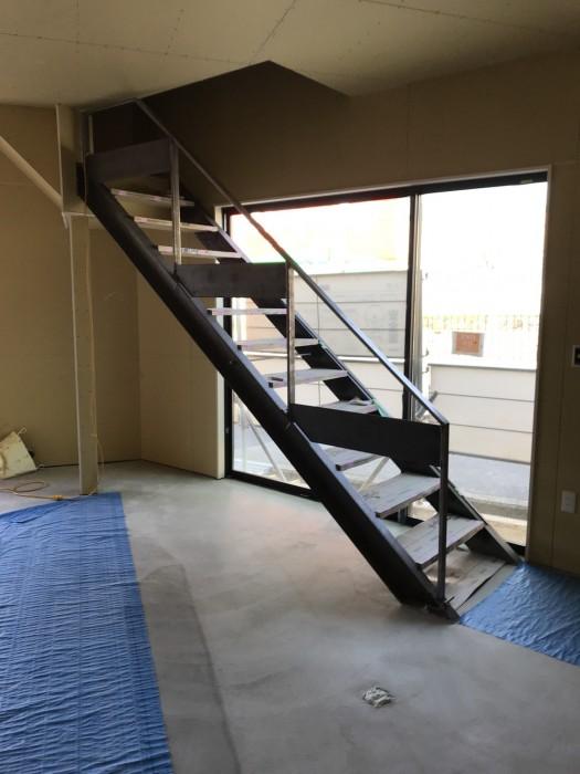 オーダーの階段です!
