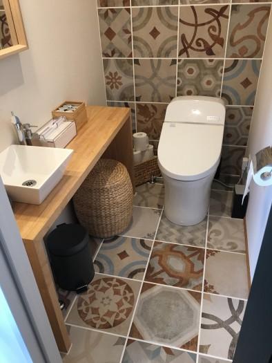 お客様からも『トイレかわいい!!』って言ってもらってます♪( ´θ`)ノ